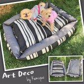 Art Deco Köpek Minderi By Kemique Köpek Yatağı