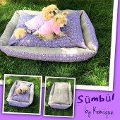 Sümbül Köpek Minderi By Kemique Köpek Yatağı