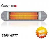 Awox Ecotec Infrared 2500 Watt Beyaz İç Dış Mekan Isıtıcı