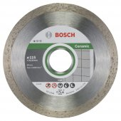 Bosch 9+1 Standard For Ceramic 115 Mm