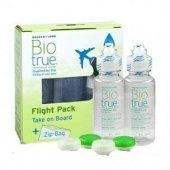 Bausch&amplomb Bio True 60ml+60ml Lens Solüsyonu (Flight Pact)