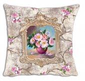 Mrs Pillow Andrea D 03 Desenli Kırlent Kılıfı 70x70cm Ebadında