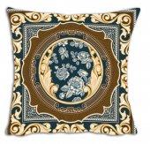 Mrs Pillow Andrea D 01 Desenli Kırlent Kılıfı 70x70cm Ebadında