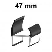 Arka Kapı Pvc Profil 47 Mm 3.20 Cm Boy