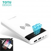 Totu Design Pbw01 Powerbank Wireless Kablosuz Led Gösterge 10000