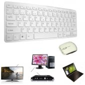 Notebook Laptop Pc Kablosuz Klavye Q Türkçe + Mouse Set