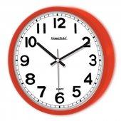 Simela Duvar Saati Kırmızı