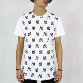 Ny Erkek Tişört Dijital Baskı Simetri T Shirt