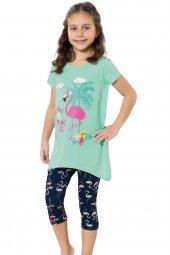 özkan 41947 Kız Çocuk Taytlı Takım