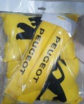 Peugeot Sarı Boyun Yastığı + Kemer Pedi