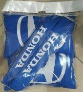 Honda Mavi Boyun Yastığı + Kemer Pedi