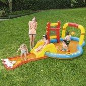 Bestway 53068 Aquapark Kaydıraklı Şişme Havuz Bowling Oyuncaklı P