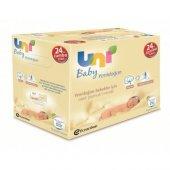 Uni Baby Yenidoğan Islak Pamuk Mendil 24&#039 Lü Fırsat Paketi 960 Yaprak