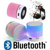 ışıklı Ses Bombası Bluetooth Speaker Hoparlör Hafıza Kart Usb Fm