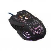 Tigoes C9 7 Renkli Led Işıklı Rubber Kasa Gaming Oyuncu Mouse