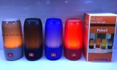 Pulse 3 Ses Bombası Led Işıklı Müzik Kutusu Bluetooth Hoparlor