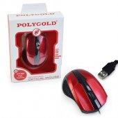Polygold Pg 881 1600 Dpı Kablolu Usb Optik Mouse