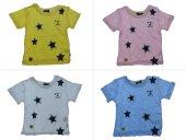 Tomurcuk Bebe Erkek Çocuk Yıldız Baskılı Tişört