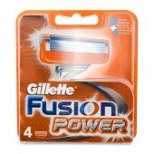 Gillette Fusion Power Yedek 4 Lu