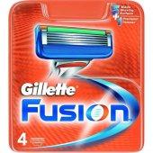 Gillette Fusion Yedek 4 Lu