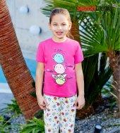 Rolypoly Süprem 1052 Pamuklu Pijama Takımı Pembe