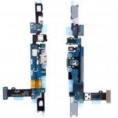 Samsung Galaxy C7 Orjinal Şarj Kulaklık Soket Tuş Bord Filmli