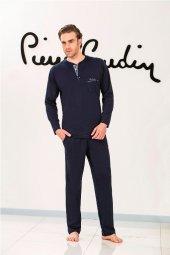 Pierre Cardin 5375 Erkek Uzun Kol Pijama Takım