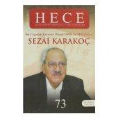 Hece Aylık Edebiyat Dergisi Diriliş Sezai Karakoç Özel Sayısı 5