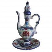 Oğuz Çini Dekoratif 20cm Antik İbrik
