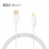 Blitzpower Örgülü Lightning Usb Data Şarj Kablosu İphone 1 Metre