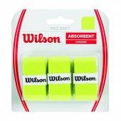 Wilson Pro Soft Overgrip 3lü Lime Yeşil Renk Raket Grip Aksqqqwı