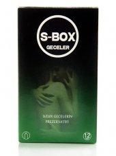Uzun Geceler Prezervatifi S Box Nıghts Condom 12 Adet