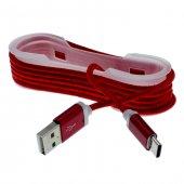 Htc U11 Life Type C Halat Kopmaz Kablo Şarj İp Örgülü 3 Al 2 Öde
