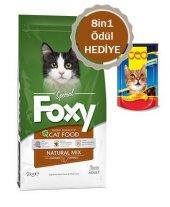 Foxy Natural Mix Yetişkin Kedi Maması 2 Kg