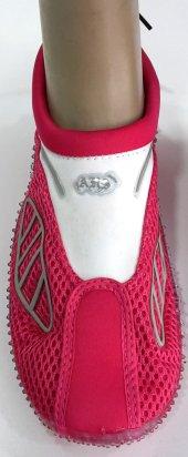 Ahs Pembe Beyaz Fileli Deniz Ayakkabısı
