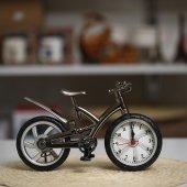 Motorsiklet Masa Saati Dekoratif