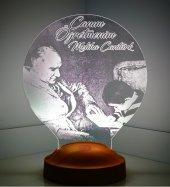 3d Görünümlü Atatürk Baş Öğretmen Led Lamba