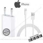 Apple İphone Orjinal Şarj Aleti + Usb Şarj Kablosu Data Usb Kablo