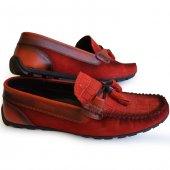Uzi 9290 Fabrikadan Halka Hakiki Deri Rok Günlük Erkek Ayakkabı