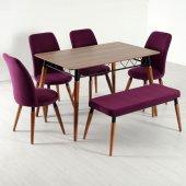 Evform Stork Banklı Masa Takımı Mutfak Salon Takim