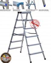 6+6 Çift Çıkışlı Profil Merdiven