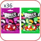 Rocco Beans Karışık Meyveli Yumuşak Şekerleme 40 G...