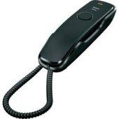 Gıgaset Kablolu Duvar Telefonu 10 Hızlı Arama Siyah Da210