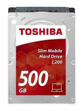 Toshıba 500gb 2,5l200 Sata 3.0 Notebook Disk Dahili Harddisk Hdwk105uzsva