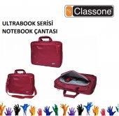 Classone 13 14 15,6 Uyumlu Ultracase Serisi Notebook Çantası Kırmızı Renk Ul162