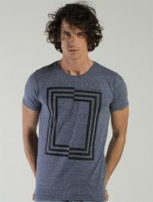 Ets 1106 Indıgo Erkek Tişört