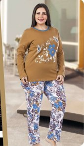 Lady Büyük Beden 2li Pijama Takımı