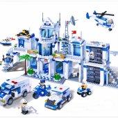 Lego Banbao 1285 Parça Polis Karakolu