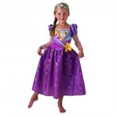 Disney Rapunzel Shimmer Kostüm 5 6 Yaş