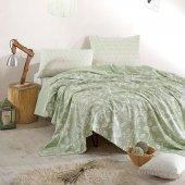 Marie Claire Pike Carsaf Set Ombre 100 Pamuk Cift Kisilik Yeşil